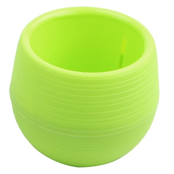 OEM Round Mini Plastic Flower Pots with factory price