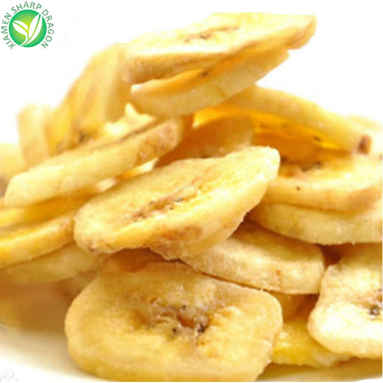 Wholesale Healthy Vacuum Fried Crispy Banana chips