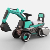 China factory hot selling cheap price plastic mini tractor for kid toys car ride on excavator