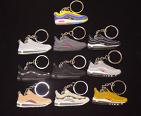 black board air force shoes key ring