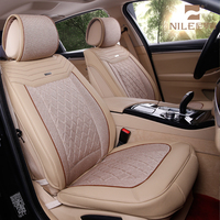 Hot Selling Unique Design Leather Fur Car Seat Cover