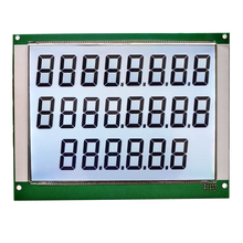 2019 custom maat 886/776/664 <span class=keywords><strong>lcd</strong></span> 22 digit <span class=keywords><strong>TN</strong></span> doorlatende 7 segment Brandstof dispenser <span class=keywords><strong>LCD</strong></span> display board fabriek