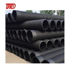 Double wall 8 inch corrugated drain pipe sn8 culvert pipe prices