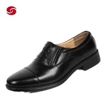 black shining formal shoes