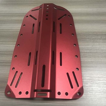 High precision anodized drilling sheet metal cutting fabrication work