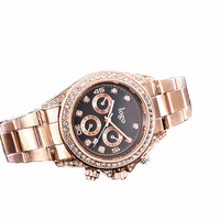 Men and women popular business quartz Full Military watch wholesale hot sale custom diamond alloy watch factory direct sale
