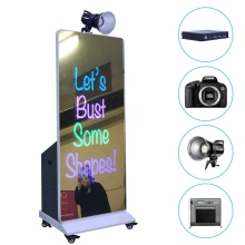 "43 ""Inch Touchscreen All In One PC Magic Selfie Spiegel Foto Booth met Printer en Camera"