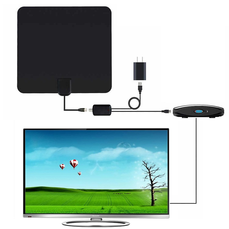 External <strong>antenna</strong> android tv box digital <strong>antennas</strong> booster magnetic base HDTV 4K clear TV <strong>antenna</strong> indoor