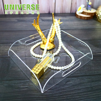 UNIVERSE factory custom clear acrylic fruit eyelash jewelry tray