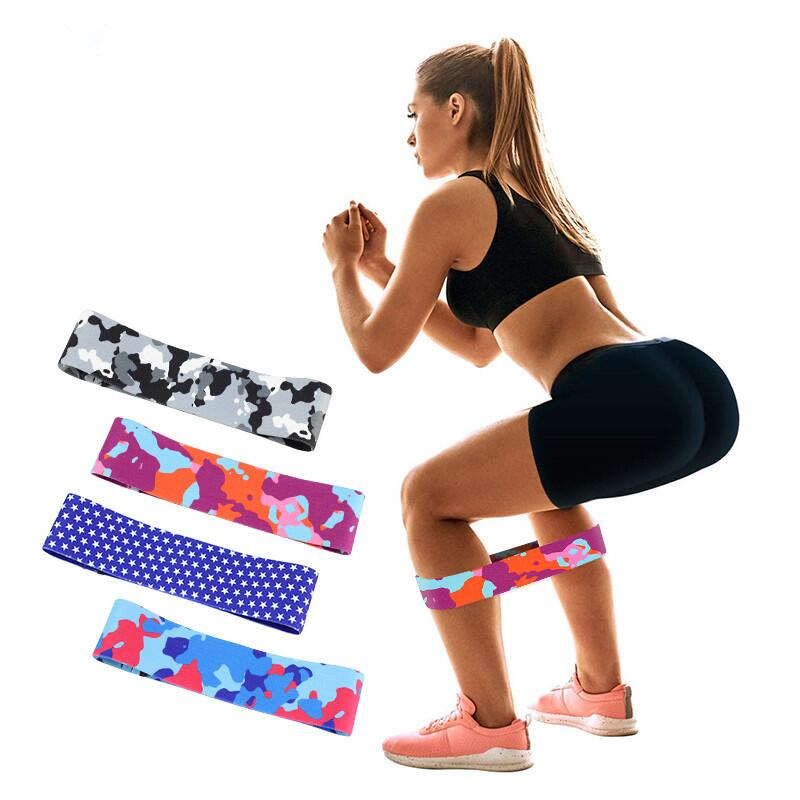 Amazon Choice Beauty Hip Non Slip Elastic Band for Legs Shoulders and Arms Exercises Perfect for Fitness, Glute or Squat Workout фото
