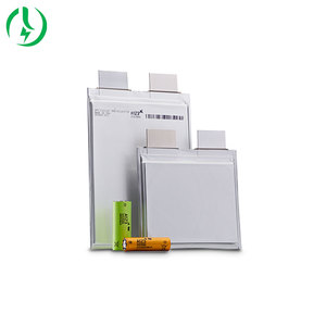 Li-polymer prismatic li-ion pouch cell 3.7V 53Ah 5C rechargeable lithium battery