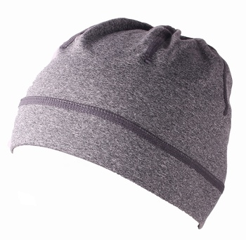 Hot sale Super Soft Cationic Dyeing plain  sport  cycling Running ponytail beanie hat
