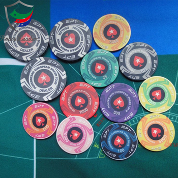10gram Wholesale Cheap Custom Design Ceramic Poker Chips