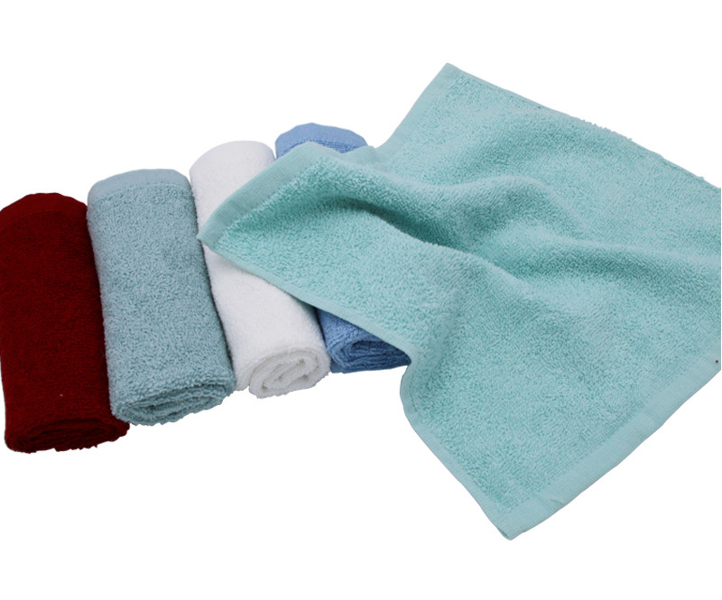 Manufacturer terry cotton kitchen bar rags hankies square towel