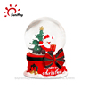 Custom polyresin christmas snow globe ornament