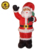 6ft Xmas Decoration Inflatable Santa with bag, Xmas Inflated Santa with Bag, Blow up Santa with Bag