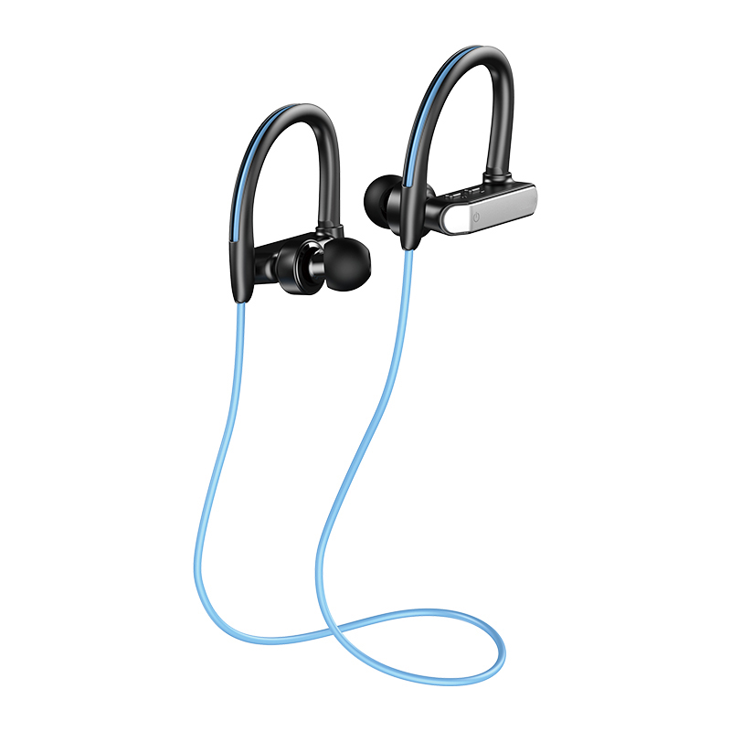 XIAOHE FACTORY Noise Cancelling Sports Blue Tooth Earbuds Headphones фото