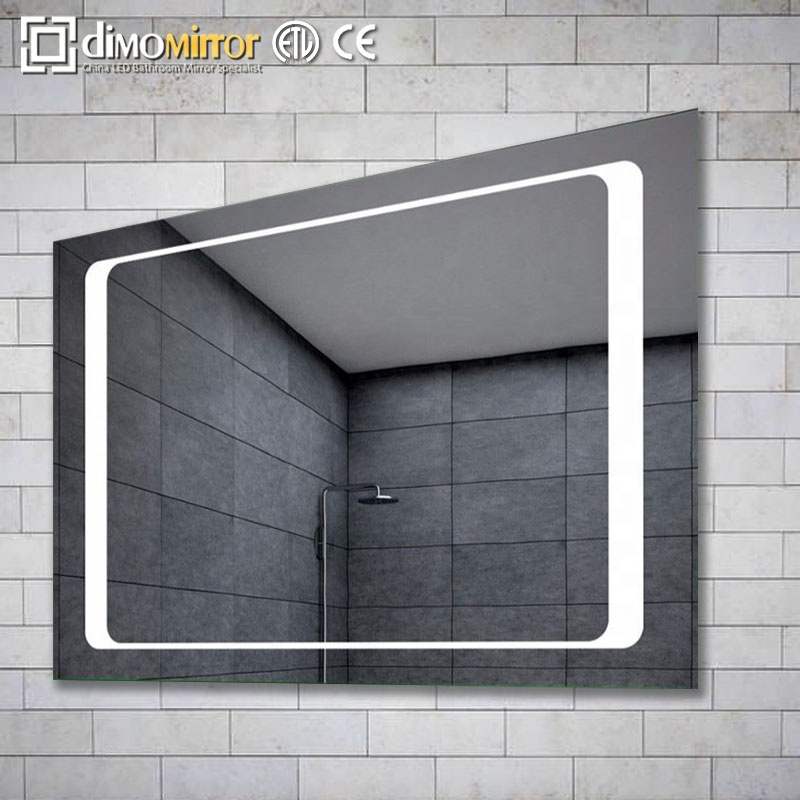 2019 Modern illuminated led light bathroom mirror with low price 32 48 inch