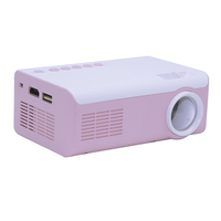 Mini led pocket portable projector home theater projector
