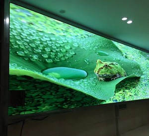 HD slim small pixel pitch High resolution 640*4640mm 256*256 pixels 1/32 Scan RGB P2.5 led TV panel interior advertising leds
