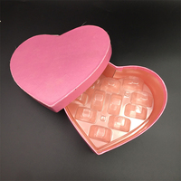luxury heart shape biodegradable gift macaron insert box