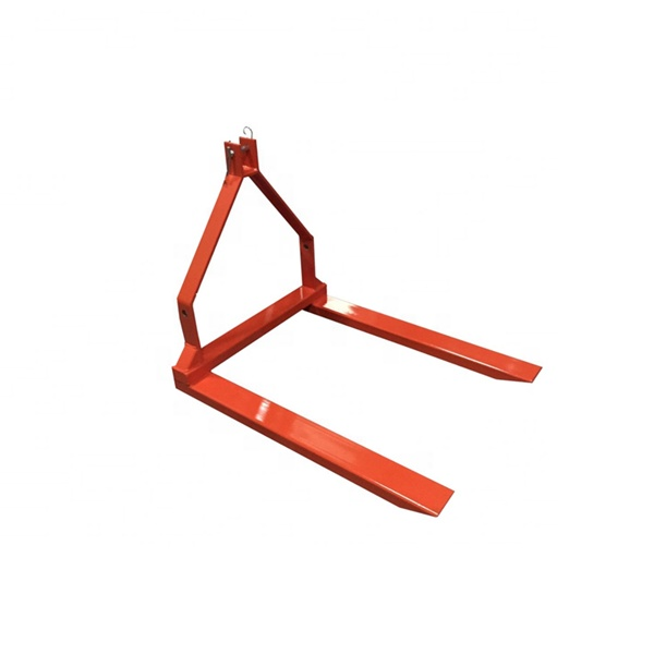 1500 Bls 3 Point Pallet Forks For Tractors,Bale Move,Hay Equipments Carrier  Fork Lift,Clamp On Bucket - Buy Pallet Forks For Tractor Bucket,Pallet