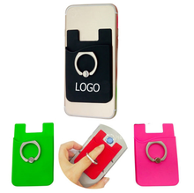 Custom Logo Silicone Smart Mobiele <span class=keywords><strong>Telefoon</strong></span> Kaarthouder Portemonnee <span class=keywords><strong>Sticky</strong></span> Met Metalen <span class=keywords><strong>telefoon</strong></span> Ring <span class=keywords><strong>Houder</strong></span>