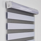 USA Canada window roller zebra blinds blackout manual electric motorized double layer zebra shades day night sheer
