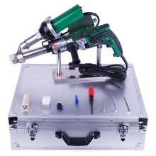 Hand Extruder,German auger 1300W,with 1600W hot air welding gun