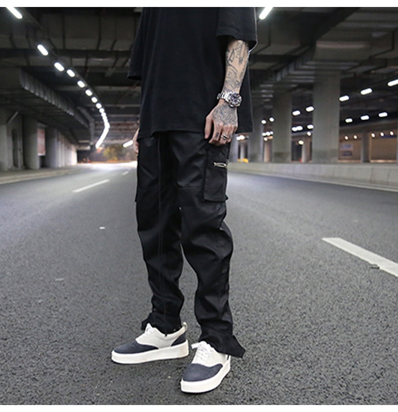 OEM trousers for men stock dropshipping hitpop streetwear chinos cargo trousers pants фото