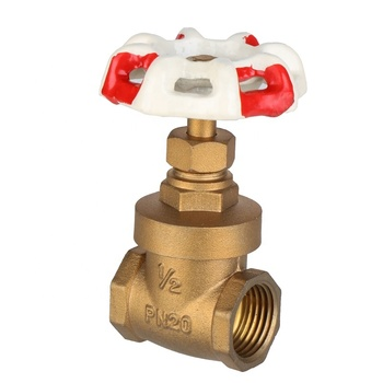 Hot Sale America style dn15 forged brass gate valve