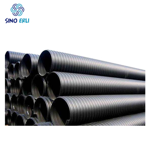 400mm hdpe sewer pipe 32crmo4 perforated 24 inch drain
