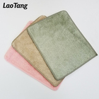 Natural fiber eco-friendly detergent-free dish cloth wood fiber kitchen dish rag cleaning towel