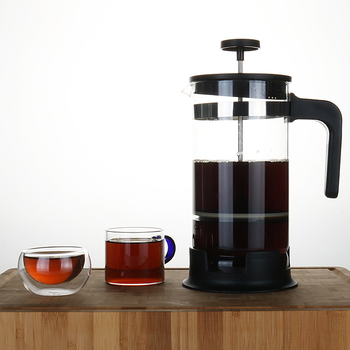 2019 Newest  Tea Pot French Coffee Press Infuser with Glass Handle