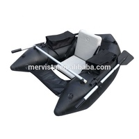 (CE) PVC Inflatable Seat Canoe Light Weight Small Belly Boat With Fin