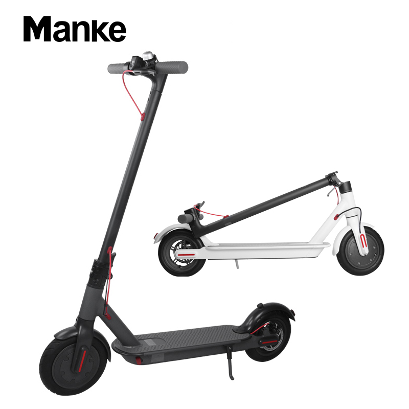 Manke factory produced 8.5 inch electric scooter self balance foldable electric scooter with disc brake electric xiaomi, Black