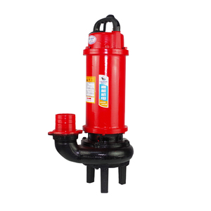 0.5hp 0.75hp 1hp 1.5hp 2hp 3hp 4hp 5hp 5.5hp lotus pond Cast iron waste dirty water WQ submersible non-clogging sewage pump