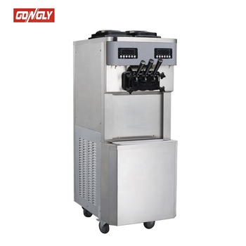 Hot Sale Gongly Factory Soft Serve Ice Cream and Frozen Yogurt Machine With ISO9001 CE Rohs CB