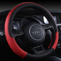 china factory Wholesale cheap price microfiber leather sport style steering wheel cover