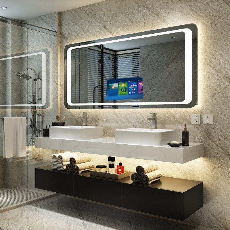 Chinese Touch Screen Led Bathroom