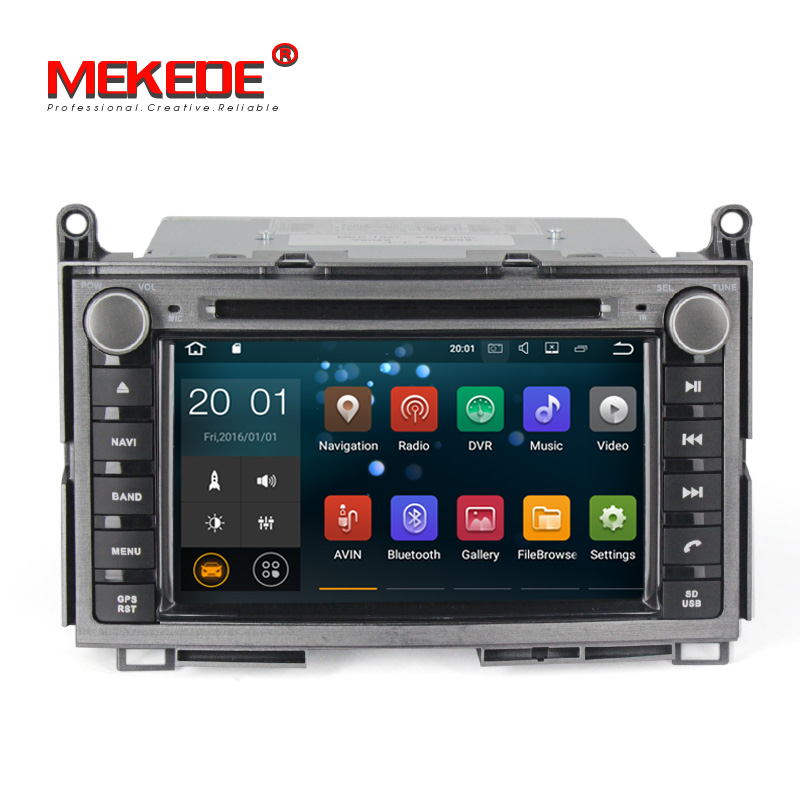 "Mekede PX3 7 ""Quad Core Android8.1 Auto Radio GPS für Toyota Venza 2008 + Auto Video CD DVD Player multimedia System 2 + 16GB Wifi 4g"