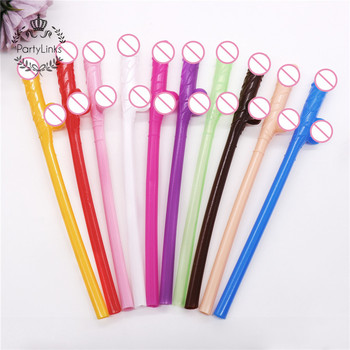 Straws Drinked Decoration Accessories Need For Hen Party Pieces Funny Bachelorette Party Straws