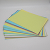 coated back carbonless copy paper sheets