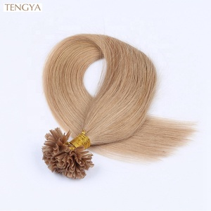 Free Sample High Quality 30 Inch U Tip Hair Extension Human Brazilian,Ombre Keratin Hair Extension