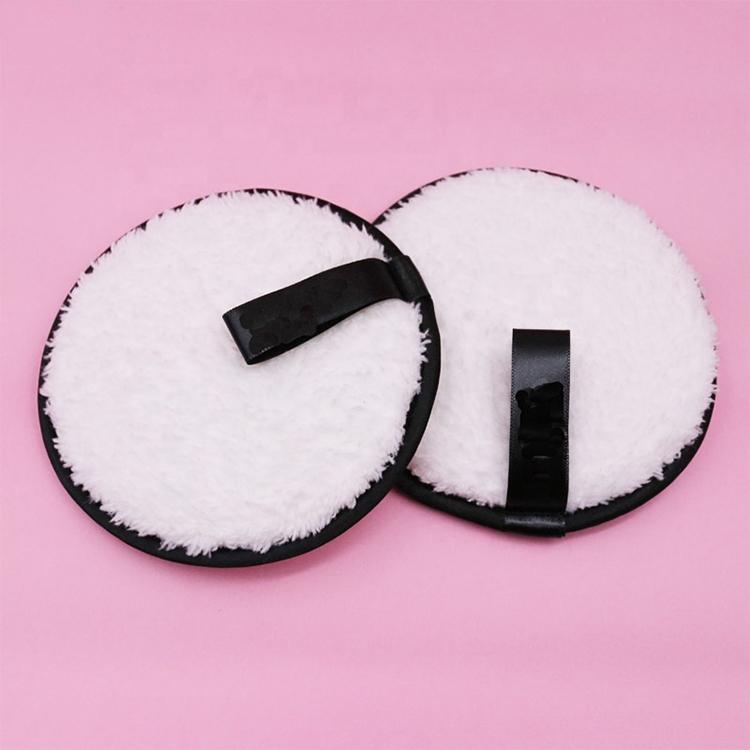 Alibaba.com / Logo Custom Reusable PVA Round Washable  Makeup/Make-up Remover Pads