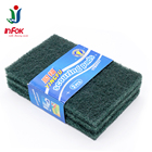 Non-woven cleaning pad/ green abrasive scouring pad