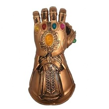 Gants LED pour Thanos Gantelet Avengers 3 Deguisement Halloween PartyHalloween Carnaval Occasion Fête cosplay Avengers Pizza <span class=keywords><strong>Masque</strong></span> G