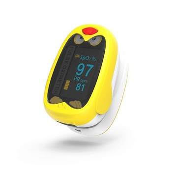 Pediatric Equipment Children Finger Clip Pulse Oximeter Electric Baby Products