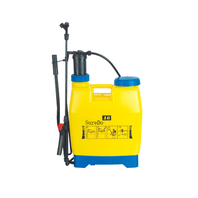 16L Manual Pertanian Tangan Pompa Udara Terkompresi Pressure Sprayer