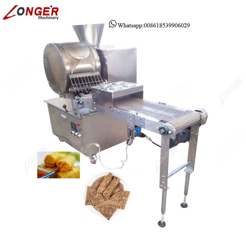Automatic Ethiopian Injera Maker Home Small Spring Roll Wrapper Making  Machine - Buy Spring Roll Wrapper Making Machine,Ethiopian Injera